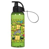 Ninja Kaplumbağalar 500 ml Askılı Su Matarası (Kırılmaz)