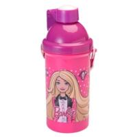 Barbie Kapaklı Plastik Matara (Hakan Çanta 78401)