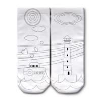 Ogobongo Boyama Çorabı 22004