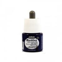Pebeo Marbling (Ebru Boyası) 04 Ultramarine Blue 45Ml