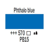 Talens Amsterdam Akrilik Boya 120 Ml 570 Phthalo Blue