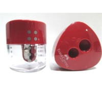 Faber Castell Grip Jumbo Auto Kalemtraş (Otomatik Kapak) Kırmızı