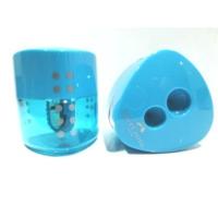 Faber Castell Grip Jumbo Auto Kalemtraş (Otomatik Kapak) Mavi