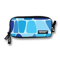 Cennec 494 Mavi Desenli İki Bölmeli Kalemlik