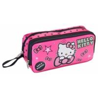 Hakan Çanta Hello Kitty Simli ve İki Bölmeli Kalem Çantası