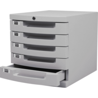 Kraf 215G Kilitli Evrak Rafı 5 Çekmeceli