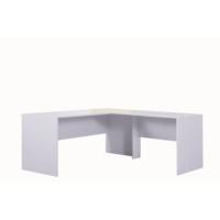Alpino İnci Ofis Masası - Beyaz