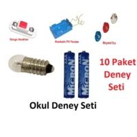Wildlebend Okul Deney Seti 10 Paket