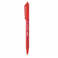 Bic Round Stick Basmalı Tükenmez Kalem Orta 1.0 Mm Kırmızı