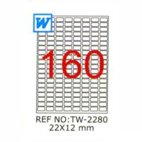 Tanex 22X12 Mm Laser Etiket Tw-2114