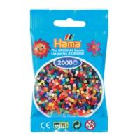 Hama Beads 2.000'lik Hama Mini Boncuk - 47 Renk