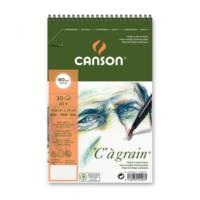 """Canson """"C"""" À Grain Spiralli Çizim Defteri 180Gr - A5"""