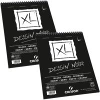 Canson Xl Dessin Noir Siyah Eskiz Defteri 150Gr - A3