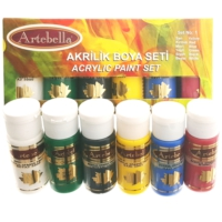 Artebella Akrilik Boya Seti-1 6X30Cc
