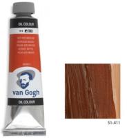 Talens Van Gogh Yağlı Boya 40Ml - Burnt Sienna 411