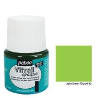Pebeo Vitrail Cam Boyası 45Ml - 42 Light Green (Opak)
