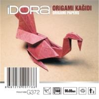 İdora Origami Kağıdı 9X9Cm 140'Lı