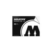 Molotow Marker Pad A4 - 32 Yaprak - 120 Gr.