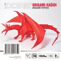 İdora Origami Kağıdı 12X12Cm 140'Lı