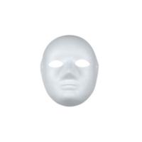 Karton Yüz Maskesi