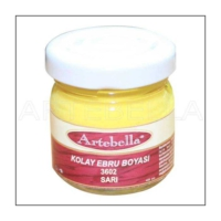 Artebella 3602 Sarı Kolay Ebru Boyası 40Cc