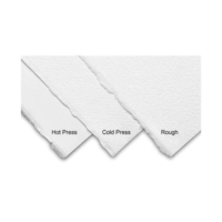 Arches Suluboya Kağıdı - Orta Doku - Doğal Beyaz - 300Gr. 56X76Cm