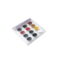 Zig Pigment Tablet Suluboya 12 Renk