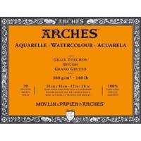 Arches Suluboya Blok - 31X41Cm - 300Gr. - 20 Yaprak - Kalın Doku