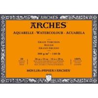 Arches Suluboya Blok - 36X51Cm - 300Gr. - 20 Yaprak - Kalın Doku