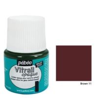 Pebeo Vitrail Cam Boyası 45Ml - 11 Brown