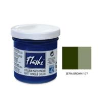 Flashe Matt Akrilik Boya 125Ml - N:107 Sepia Brown