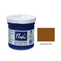 Flashe Matt Akrilik Boya 125Ml - N:706 Deep Gold
