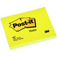 Postit Not Kağıt 657 76-102 Sarı