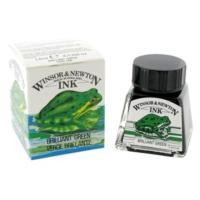 Winsor & Newton Çini Mürekkebi 14Ml - Brilliant Green