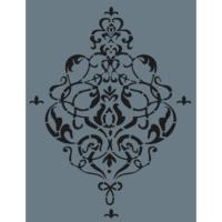 Rich Duvar Stencilı 50X70Cm - 15
