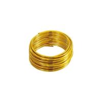 Folia Aluminyum Tel 5Mt. Altın