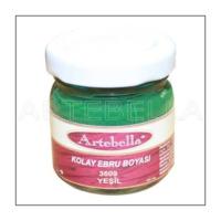 Artebella 3609 Yeşil Kolay Ebru Boyası 40Cc