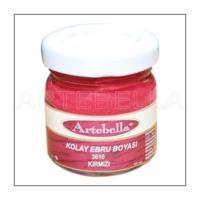 Artebella 3610 Kırmızı Kolay Ebru Boyası 40Cc