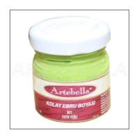 Artebella 3613 Fıstık Yeşili Kolay Ebru Boyası 40Cc