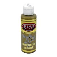 Rich Metalik Akrilik Boya 130Cc. N:772 Koyu Altın