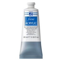 Lefranc & Bourgeois Fine Akrilik Boya 60Ml N:065 Cerulean Blue Hue