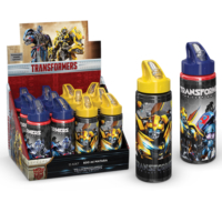 Transformers Pipetli Alüminyum Matara (600Ml) 52921