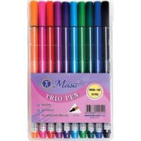 Masis 10 Renk Trıo Pen