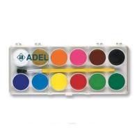 Adel Sulu Boya Küçük Boy 12 Renk (2290933000)