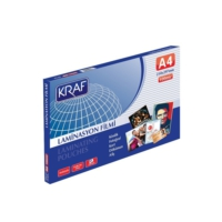 Kraf A4 Laminasyon Filmi Parlak 100 Micron 100'lü Paket (2120)