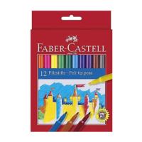 Faber-Castell Unicolor Keçeli 12Li 554212