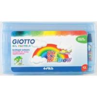 Giotto 295100 Plastik Kutu 12 Renk Pastel Boya