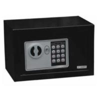 Balatlı Budget Elektronik Tuşlu Çelik Kasa 180X280X180Mm Anahtarlı Siyah