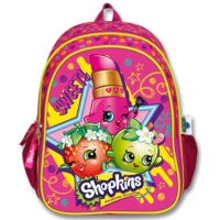 Ümit Çanta Shopkins Kız Çocuk Okul / Sırt Çantası (Fuşya - 1987)