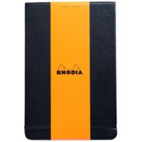 Rhodia Boutique Sert Kapak A5 Siyah Çizgili Defter Rw 118349